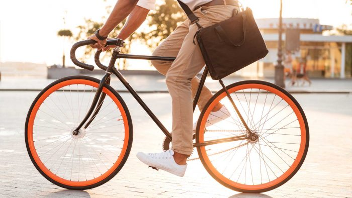 picture of guy cycling